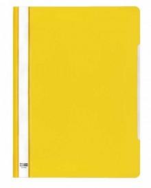 Schnellhefter A4 PVC gelb