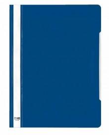 Schnellhefter A4 PVC d-blau