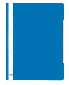 Schnellhefter A4 PVC m-blau