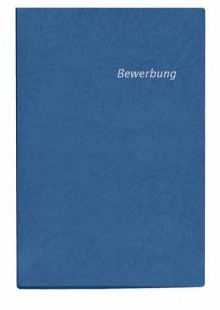Veloflex Bewerbungsmappe in blau