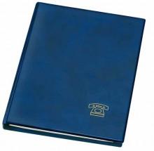 Telefon Ringbuch A5 blau