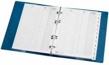 Karton Ersatzeinlagen A5, 25tlg, A5, f. Telefon und Faxringbücher