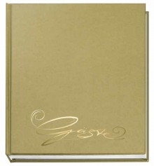Gästebuch gold Classic,144S 205x240 m. Farbpräg.