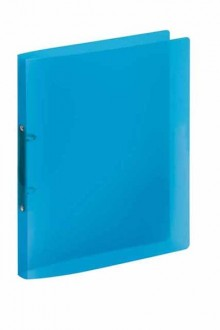 Ringbuch A4 Propyglass blau 2 Rg 20 mm