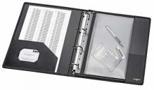 Sammelmappe VELOBAG, XS, PP-Folie, DIN A4, schwarz, mit Reißverschluß,