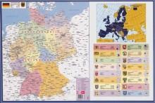 Schreibunterlage Deutschland 40x60 cm