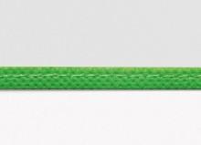 Buchhülle 245 lang mit Lasche grüner Rand