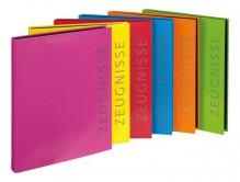 Ringbuch A4 Zeugnisse Velocolo 6 Farben sortiert