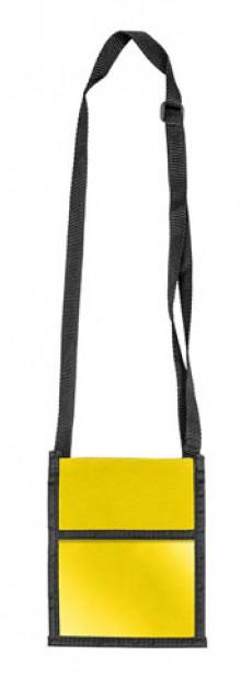 Brustbeutel Velocolor gelb 135x175mm aus Polyester