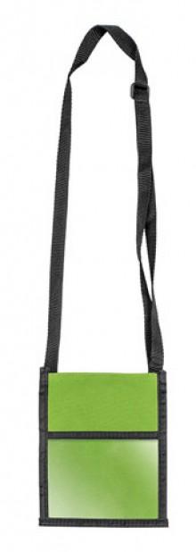 Brustbeutel Velocolor grün 135x175mm aus Polyester