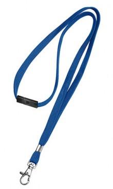 Bänder für Namenschild blau 10er mit Sicherheitsverschluss