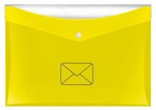 Postmappe DIN A4 mit zusätzlicher Tasche