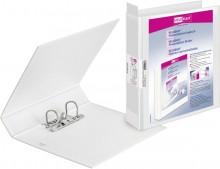 Präsentationsringbuch Velodur A4 ws 2-Ring 40mm Ringd. Hebelmechanik