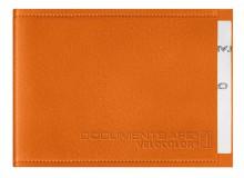 Document Safe 1, Schutzhülle passend für eine Karte, orange, geeignet