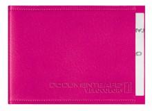 Document Safe 1, Schutzhülle passend für eine Karte, pink, geeignet