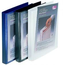 Präsentationsringbuch Velodur A4 4-Ring 60mm Ringdurchmesser weiß
