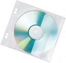 CD-Hülle zum Abheften, 10er Pack pp, 1 cd, transparent