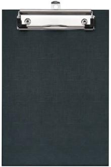 Schreibplatte A5 Format PP kaschiert, schwarz