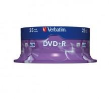 Rohling DVD+R 4,7 GB/120 Min. 16-fach, 25-er Spindel