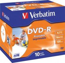 Rohling DVD-R 4,7 GB/120 Min. 16-fach im Jewel case