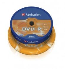 Rohling DVD-R 4,7 GB/120 Min. 16-fach, 25-er Spindel