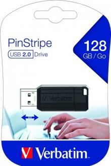 Speicherstick USB 2.0 128 GB PinStripe schwarz