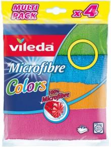 Microfaser Allzwecktuch, 4 Farben 100% Microfaser, besonders saugstark