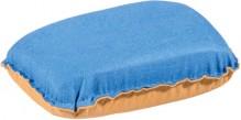 Schwamm Klare Scheibe f. Autoscheiben 2 Reinigungsseiten, blau und gelb
