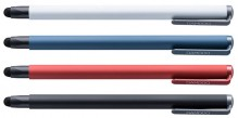 Bamboo Stylus solo4 blau, Carbon- faser-Spitze, dreieckiges Design