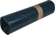 Müllsäcke LDPE, 120 Liter, 78 my, blau, 700 x 1100 mm,