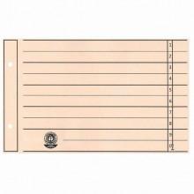 Trennblätter, A5 (24x15cm), chamois, 230g/qm, 2fach gelocht