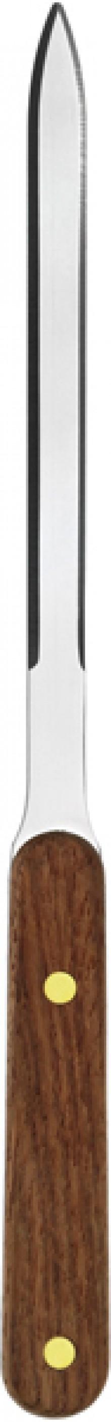 Brieföffner, brauner Holzgriff, 24,5 cm