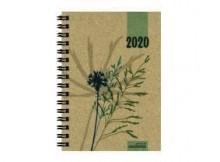 Taschenkalender 10 x 14 cm, Graspapier # 6390640