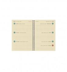 Wochenbuch 14 x 20 cm, Agrar # 759-0840