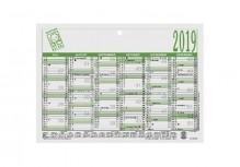 Arbeitstagkalender A5 21x14,8 cm, 2020 # 904-0000
