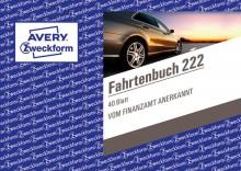 Fahrtenbuch A6 quer 40 Blatt mit km-Nachweis