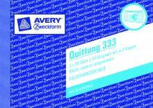 Quittung m. MwSt, A6 quer, MP, 3 x 50 Blatt