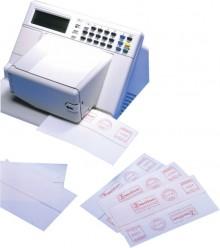 Etikett Frankier 163x43 mm, weiß, 250 Blatt = 500 Stück