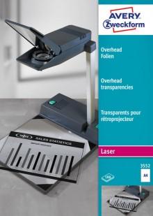 Laser+Kopier-Folie A4, 0,10mm