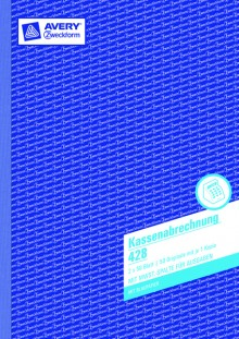 Kassenabrechnung A4, MP, 2x50Blatt