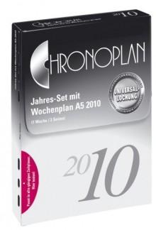 Chronoplan Jahresset A5 2020 365 Tagespläne 1 Tag/2 Seiten