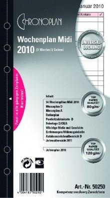 Chronoplan Wochenplan Midi