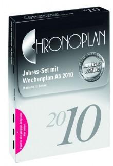 Chronoplan Jahresset A5 2020 53 Wochenpläne 1 Woche/2 Seiten
