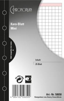 Chronoplan Karo-Blatt, Mini