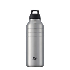 Esbit Edelstahltrinkflasche, 1 l, Edelstahl