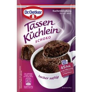 Dr. Oetker Tassenküchlein Schoko, für die Mikrowelle
