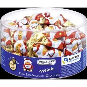Riegelein Weihnachts-Wichtel massiv, Edel-Vollmich-Schokolade