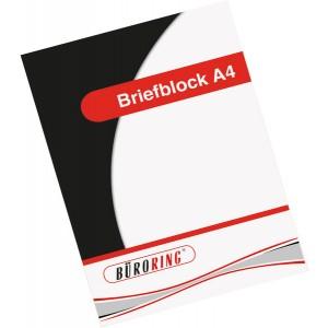 Büroring Briefblock RC, A4, 50 Blatt, kariert