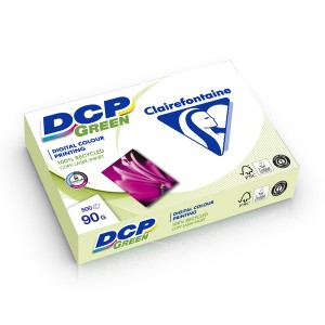 DCP green Kopierpapier, A4, weiß, 90g, 500 Blatt, Recycling,