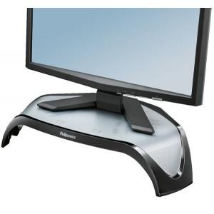 Der Monitorständer Smarts Suits ist für Flachbildschirme bis 21 Zoll